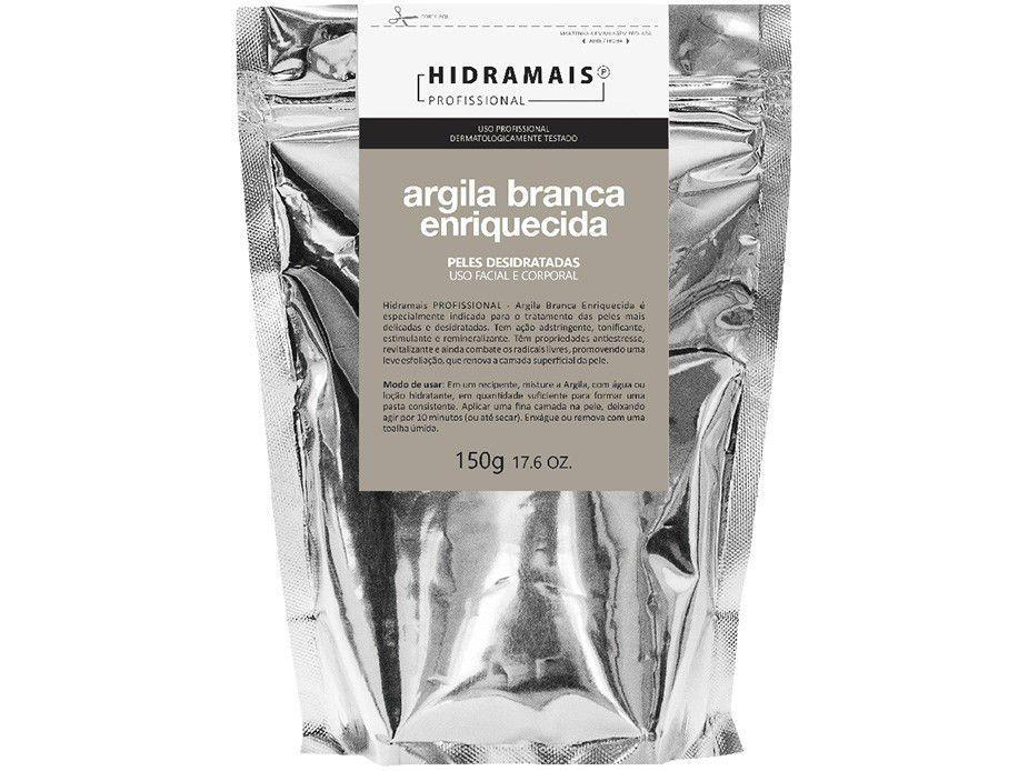 Argila Branca Facial e Corporal Hidramais - Profissional Enriquecida 150g