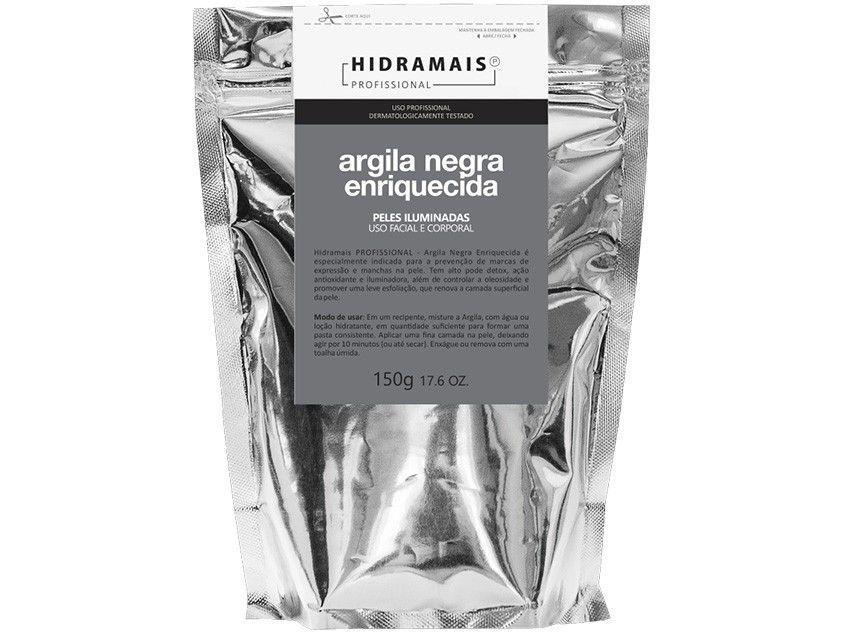 Argila Negra Facial e Corporal Hidramais - Profissional Enriquecida 150g