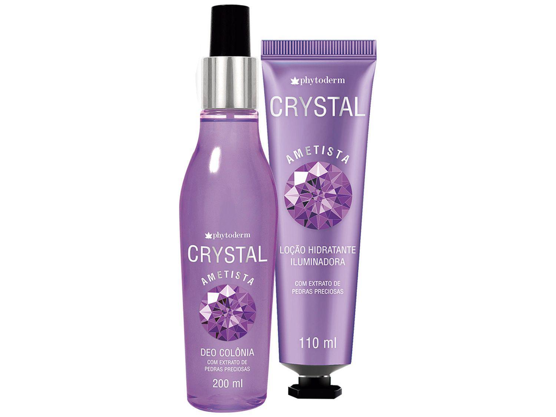 Kit Body Splash Phytoderm Crystal Ametista - Feminino