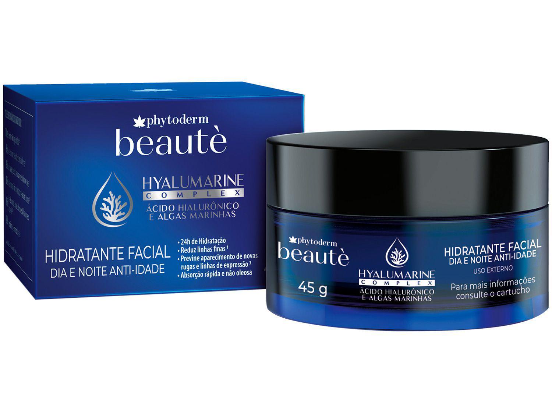 Creme Facial Anti-idade Phytoderm - Hyalumarine Complex Beauté 45g