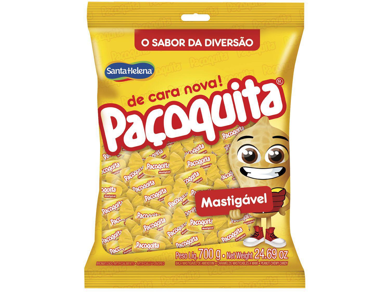 Bala Santa Helena Paçoquita Paçoca 700g Pacote