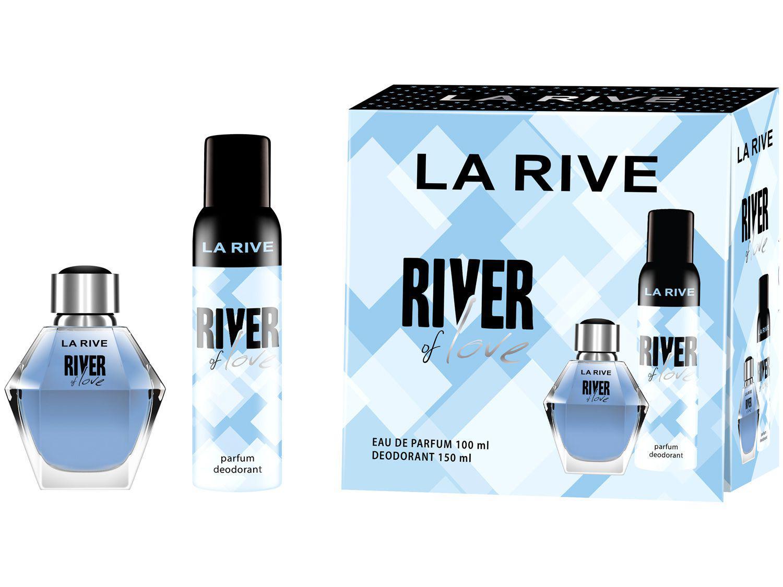 Kit Perfume La Rive River Of Love Feminino - Eau Parfum