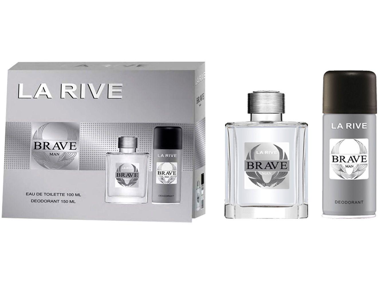 Kit Perfume La Rive Brave Masculino - Eau de Toilette