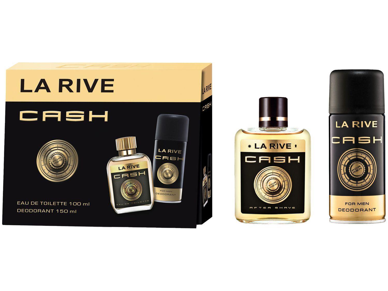 Kit Perfume La Rive Cash Man Masculino - Eau de Toilette
