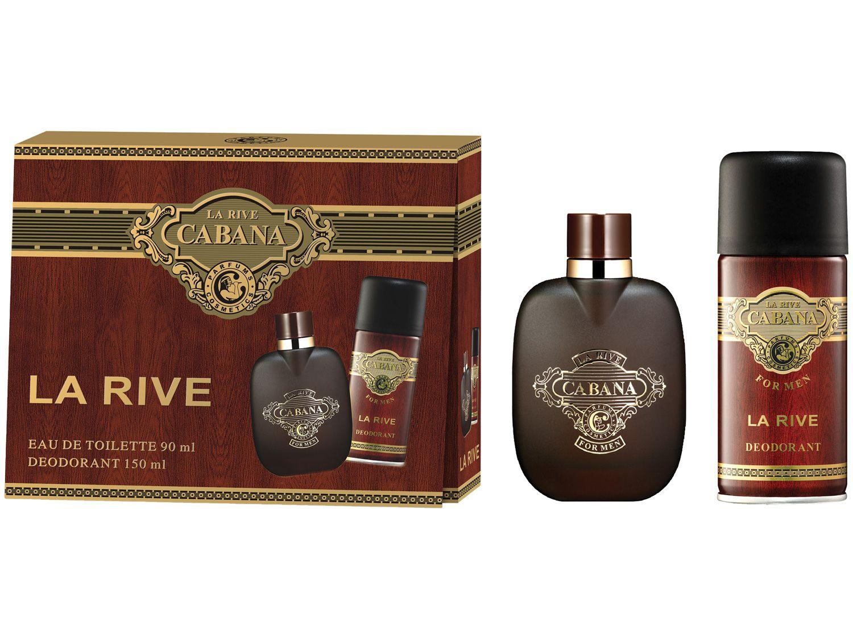 Kit Perfume La Rive Cabana Masculino - Eau de Toilette