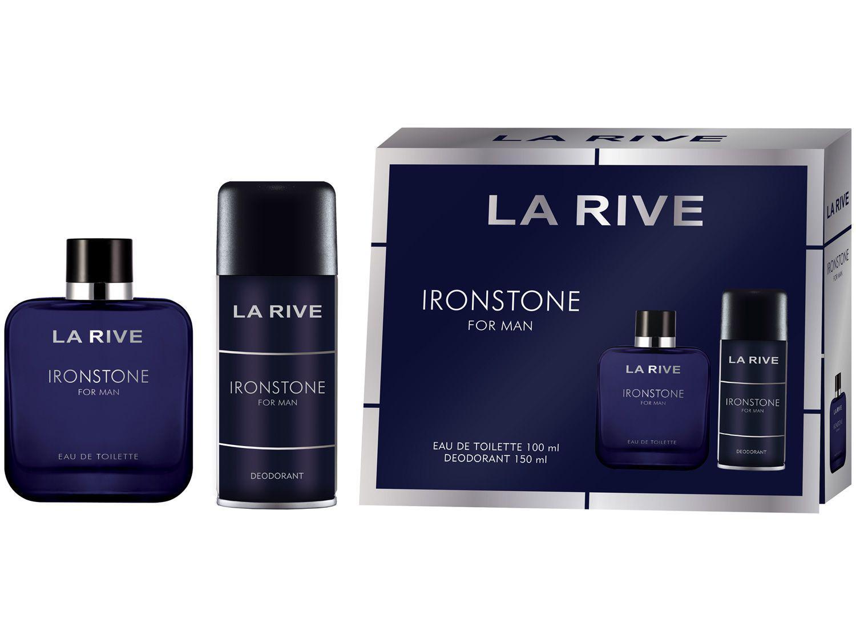 Kit Perfume La Rive Ironstone Masculino - Eau de Toilette