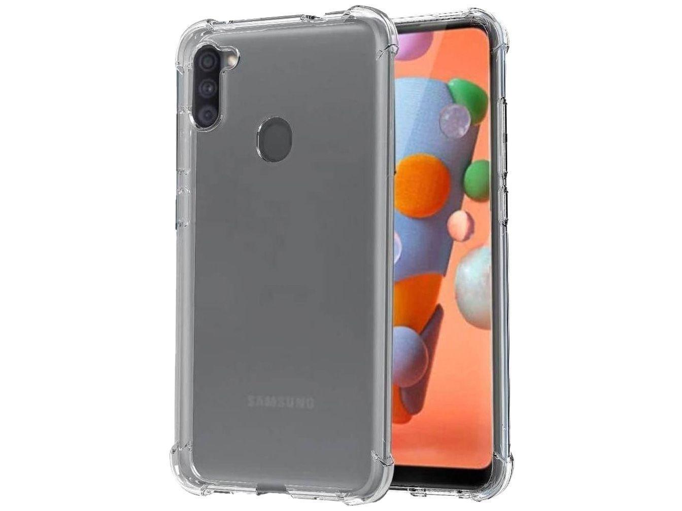 Capa de Celular para A11 Plástico Anti-Impacto - Samsung Hrebos Original