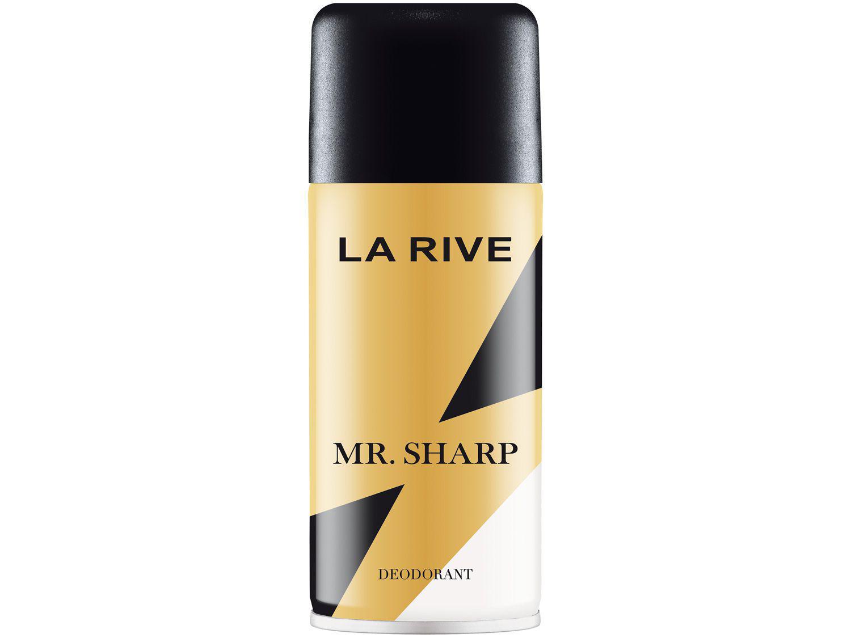 Desodorante Aerossol La Rive Mr. Sharp - Masculino Oriental 150ml
