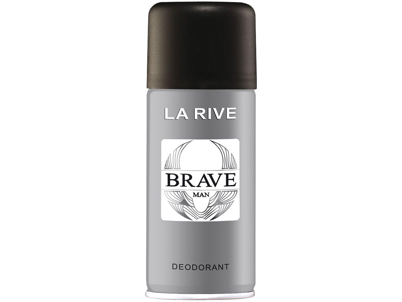Desodorante Antitranspirante Aerossol La Rive - Brave Masculino 150ml