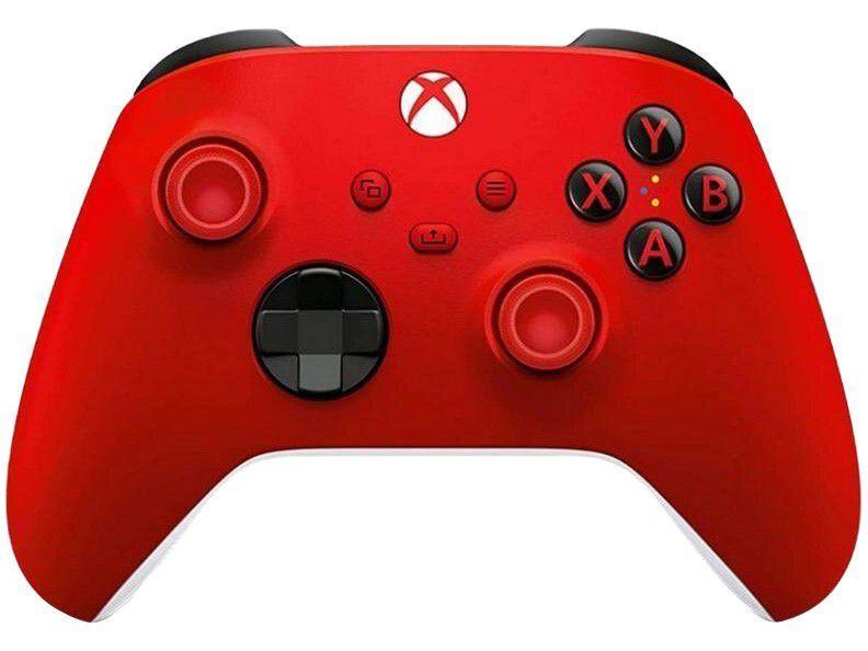 Controle para PC Xbox One e Series X S sem Fio - Pulse Red Microsoft Vermelho