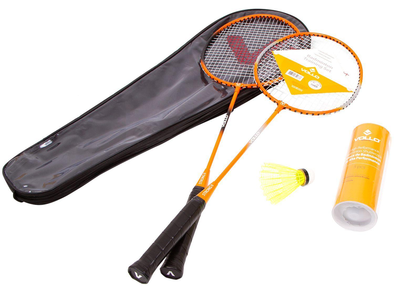 Kit Badminton Vollo VB002 6 Peças