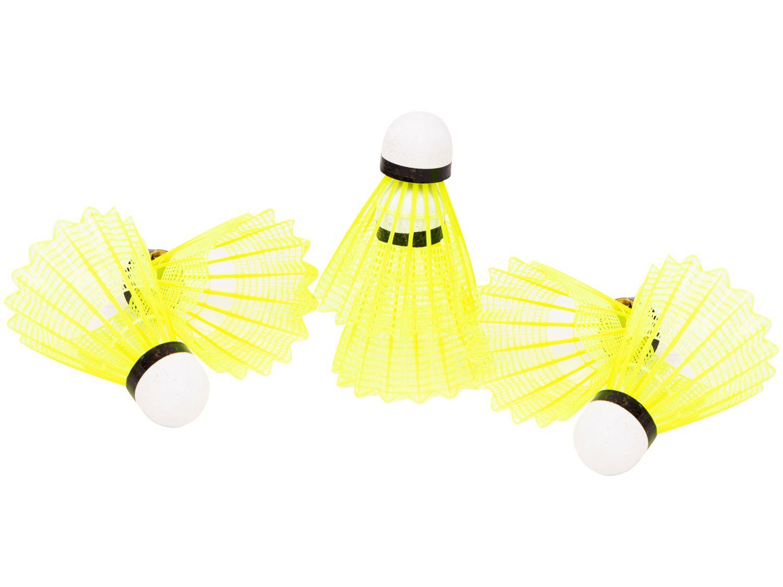 Peteca de Badminton Vollo VB600 6 Unidades
