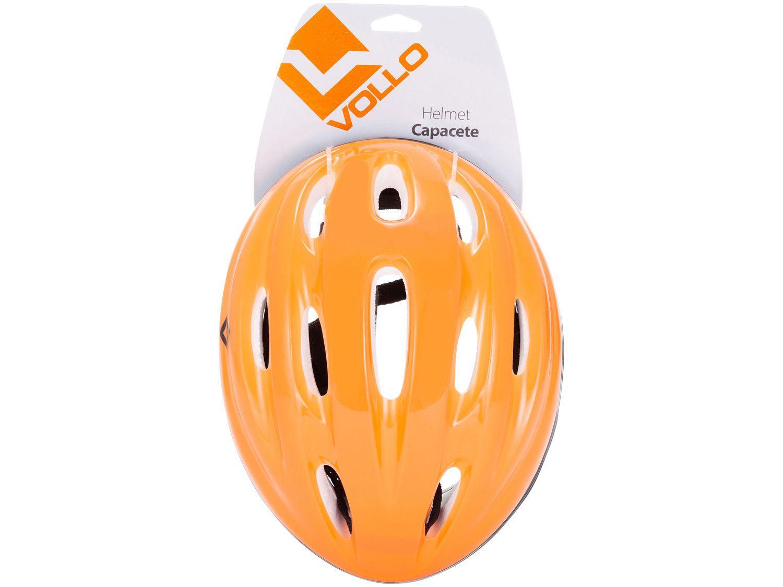 Capacete Indicado para Ciclismo Skate e Patinete - P Vollo VCL410P Laranja