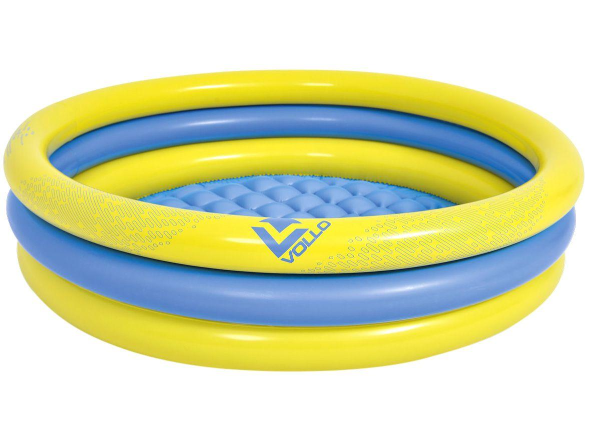 Piscina Infantil Inflável Vollo Sports 95L Redonda - VV17218
