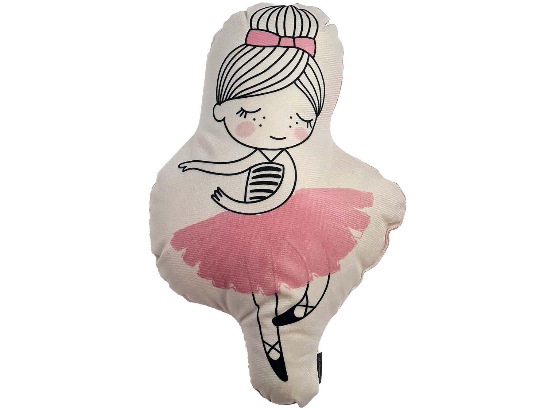 Almofada Decorativa Infantil Design Up Living - Bailarina