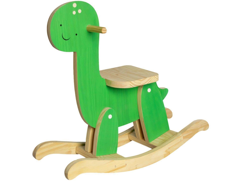 Gangorra Dino Dinossauro Verde Design Up Living