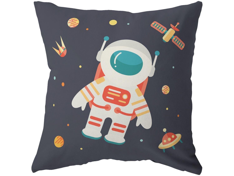 Capa de Almofada 42x42cm Design Up Living - Astronauta