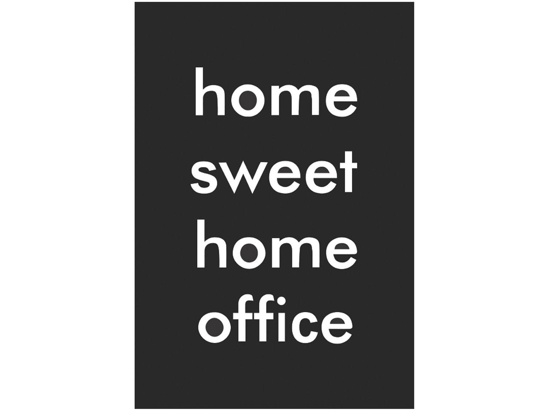 Placa Decorativa MDF Home Sweet 20x29cm - Design Up Living