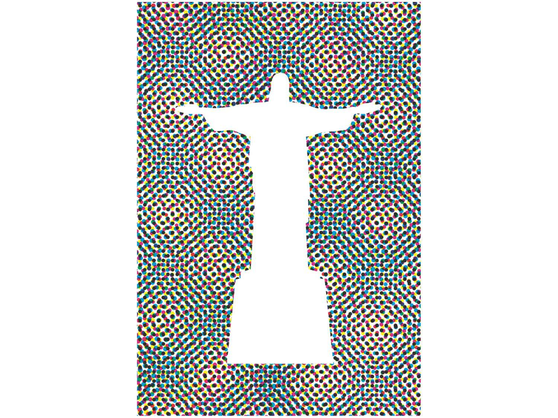 Placa Decorativa MDF Cristo Redentor 20x29cm - Design Up Living