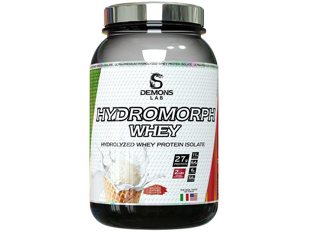 Whey Protein Demons Lab Hydromorph 900g - Gelato de Latte