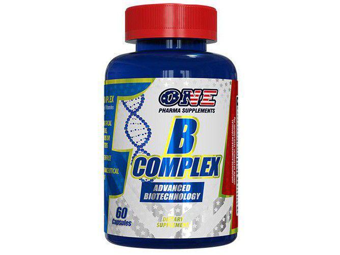 Vitamina B One Pharma Complex 60 Cápsulas