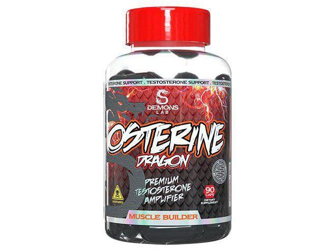 Pró-Testosterona Demons Lab Dragão Osterine - em Cápsulas 90 Cápsulas