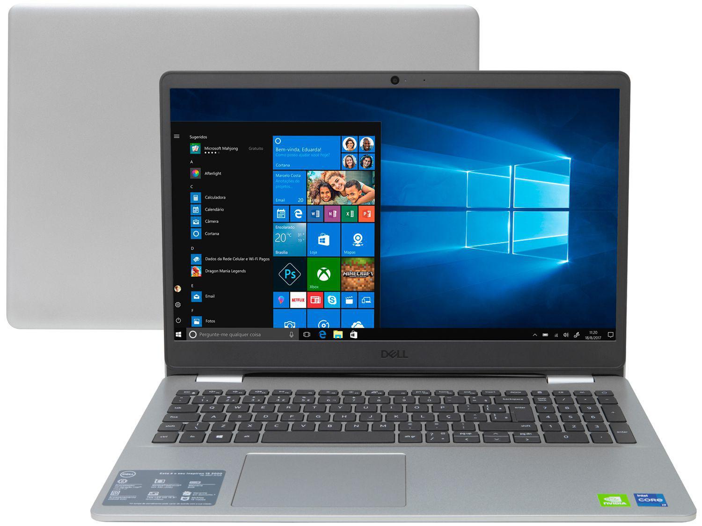 "Notebook Dell Inspiron i15-3501-A70S Intel Core i7 - 8GB 256GB SSD 15,6"" Placa Vídeo 2GB Windows 1"