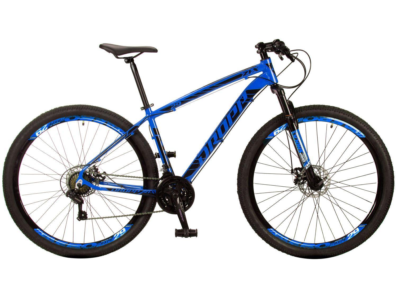 Bicicleta Aro 29 Dropp Z1-X Aço Freio a Disco - 21 Marchas Câmbio Shimano