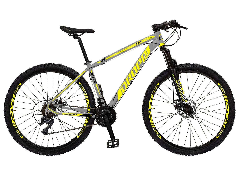 Bicicleta Aro 29 Dropp Z3-X Aço Freio a Disco - 21 Marchas