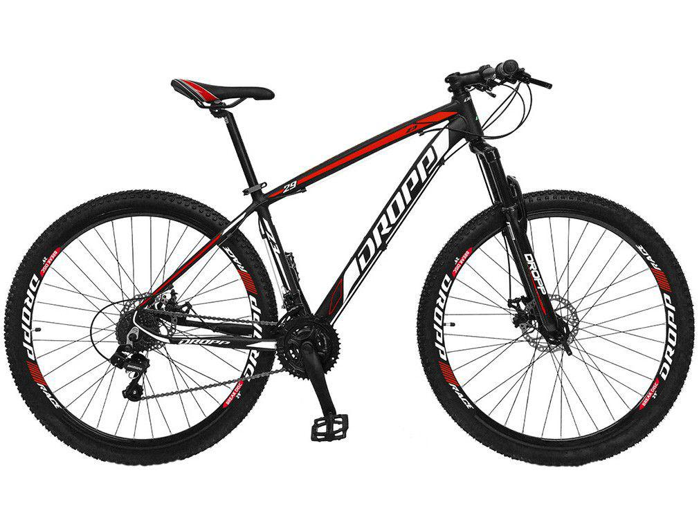 Bicicleta Aro 29 Dropp Z3 Alumínio Freio a Disco - 21 Marchas Câmbio Shimano