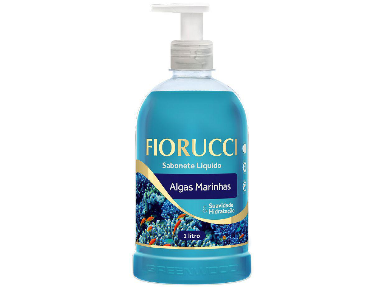 Sabonete Líquido Fiorucci Algas Marinhas 1L
