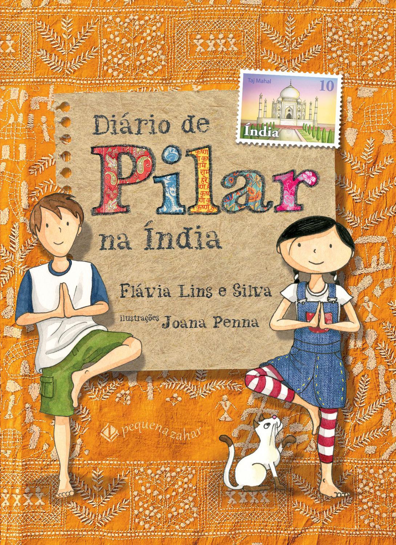 Livro - Diário de Pilar na Índia