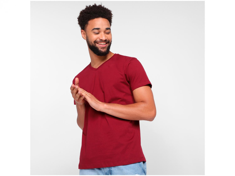 Camiseta Vista Magalu Básica Gola V