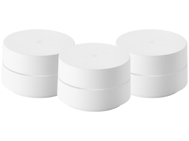 Google Wifi Mesh AC1200 Dual-Band GA02430-BR - Gigabit 3 Unidades