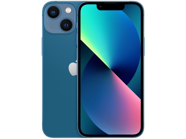 "Apple iPhone 13 Mini 128GB Azul Tela 5,4"" - 12MP iOS"