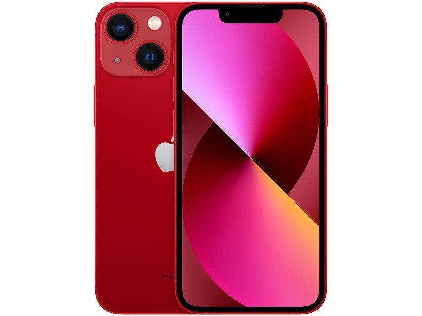 "Apple iPhone 13 Mini 256GB PRODUCT(RED) Tela 5,4"" - 12MP iOS"
