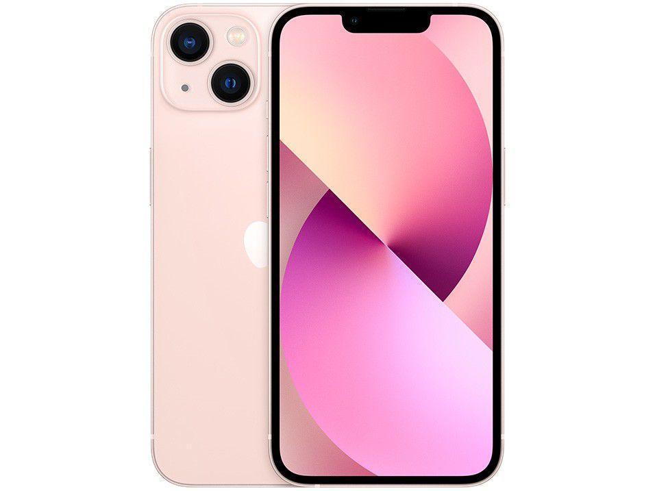 "Apple iPhone 13 256GB Rosa Tela 6,1"" - 12MP iOS"