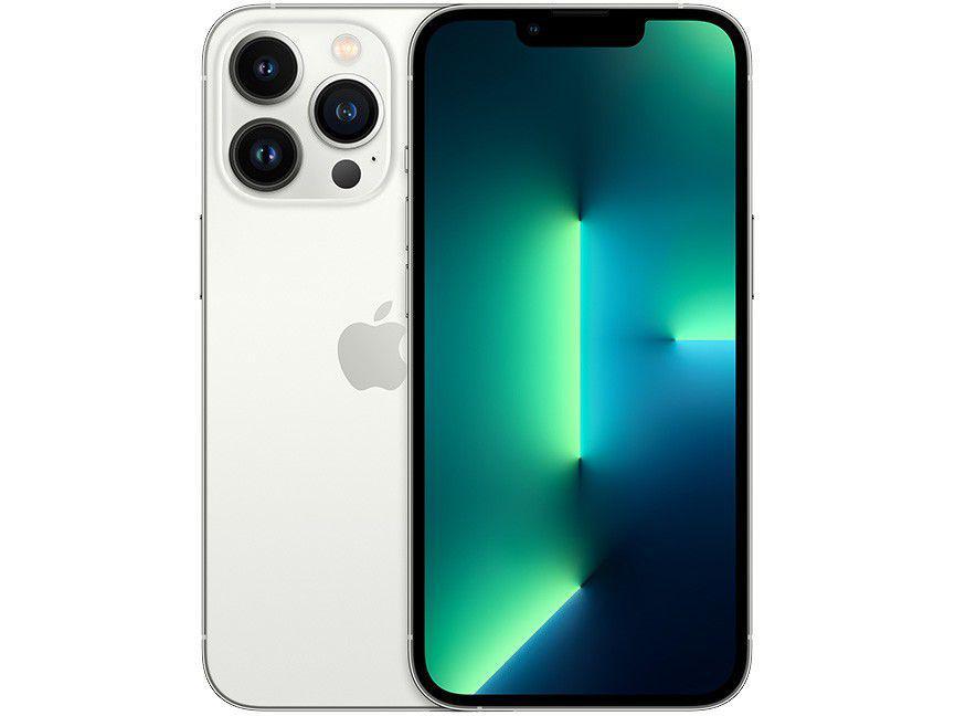 "Apple iPhone 13 Pro 128GB Prateado Tela 6,1"" - 12MP iOS"