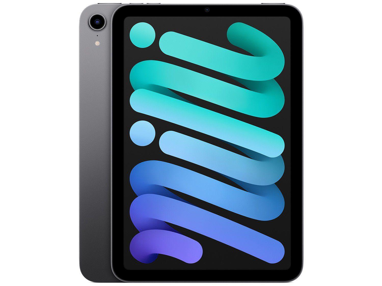 """Apple iPad Mini 8,3"""" Wi-Fi 64GB Cinza-espacial"""