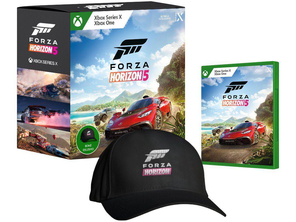 Forza Horizon 5 para Xbox One e Xbox Series X - Microsoft Pré-venda + Boné Exclusivo