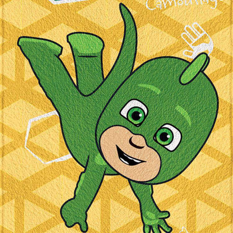 c15cf1f56f Toalha de Banho Infantil PJ Masks Lagartixo Felpuda - Lepper R  24