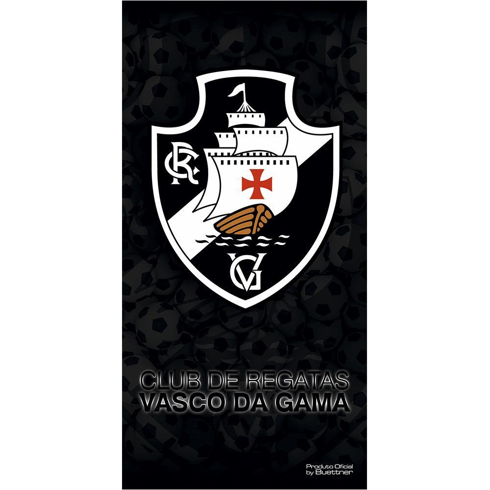 ba6e7682fc Toalha de Banho Times de Futebol - Buettner - Linha Licenciados - Vasco -