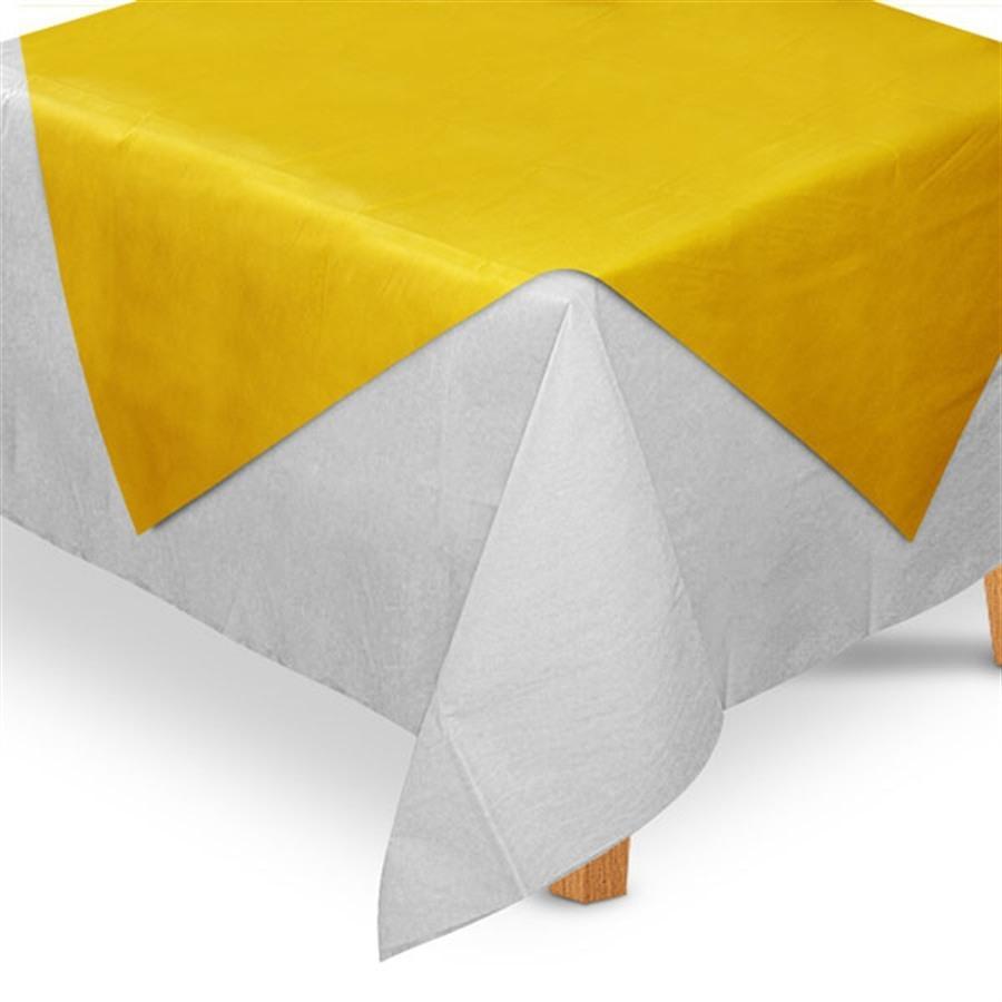 0eafdc04b306a Toalha de Mesa TNT Cobre Mancha Amarela 5 unidades - Festabox R  59