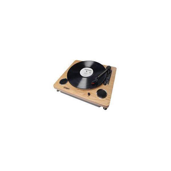 8540a8f53ff44 Toca Discos Vinil Com Alto-Falantes Conversão Para O Formato Digital E Saída  Rca - Íon R  918