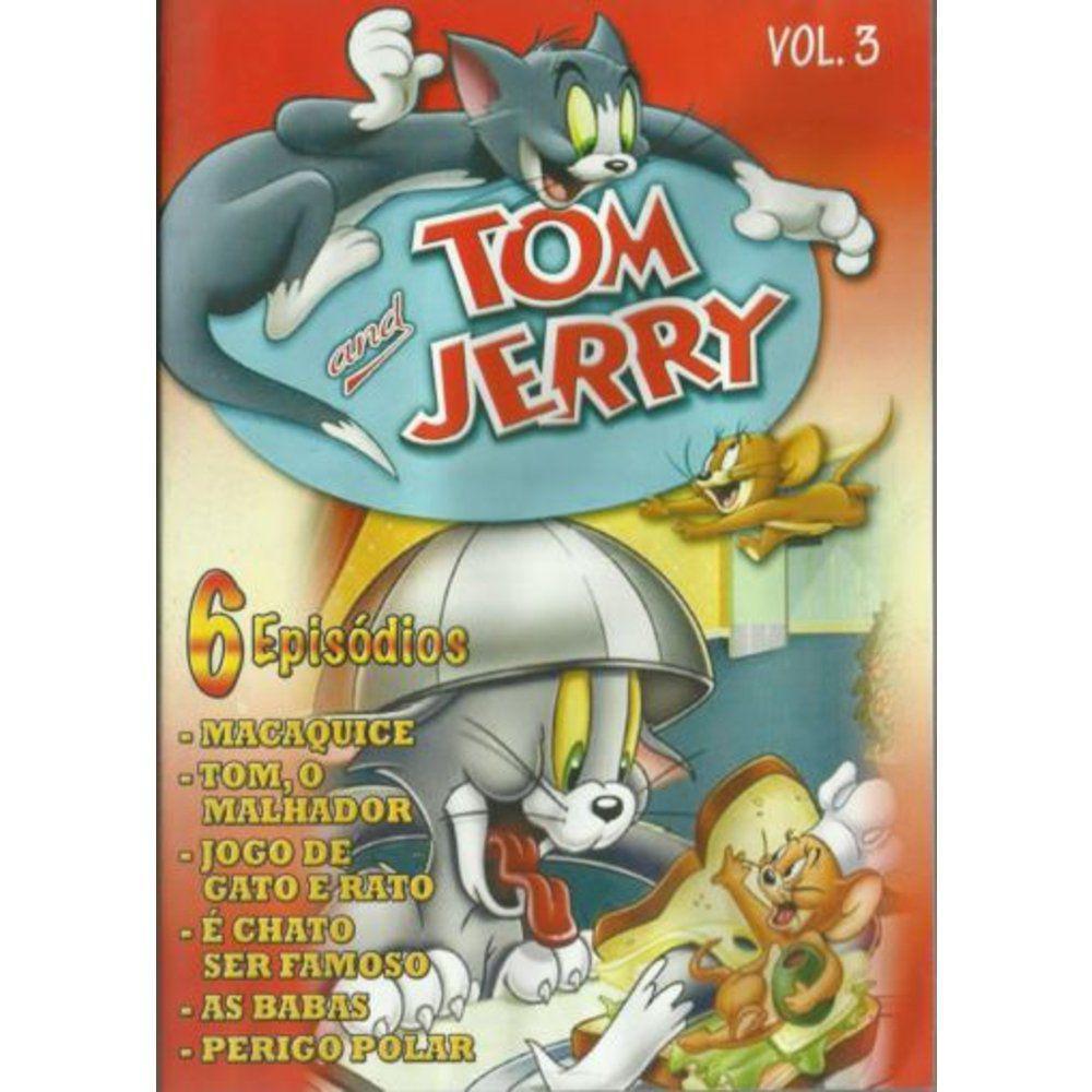 Tom E Jerry Vol 3 Desenho Dvd Marcio Arantes Cassulino