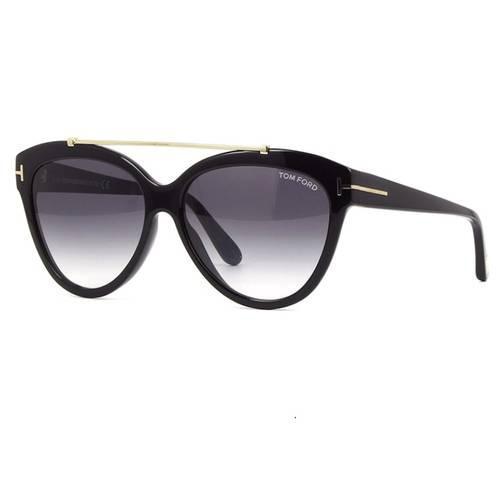 62ca1d335 Tom Ford Livia 518 01B - Óculos de Sol Preto 14 R$ 1.549,99 à vista.  Adicionar à sacola
