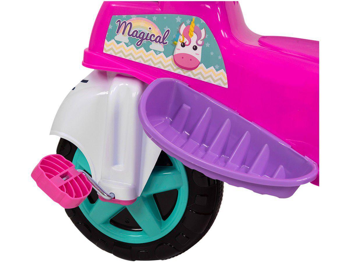 Triciclo Infantil Baby City Menina com Empurrador - Maral ...