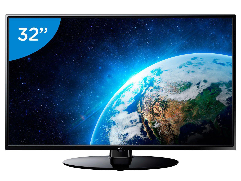 tv led 32 aoc le32h1465 25 conversor digital 2 hdmi 1. Black Bedroom Furniture Sets. Home Design Ideas