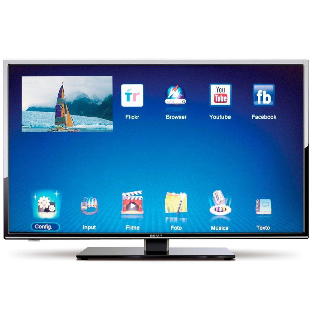 bd99c8636 TV LED 32 Polegadas Semp Toshiba HD Internet TV USB HDMI - LE3278 Produto  não disponível