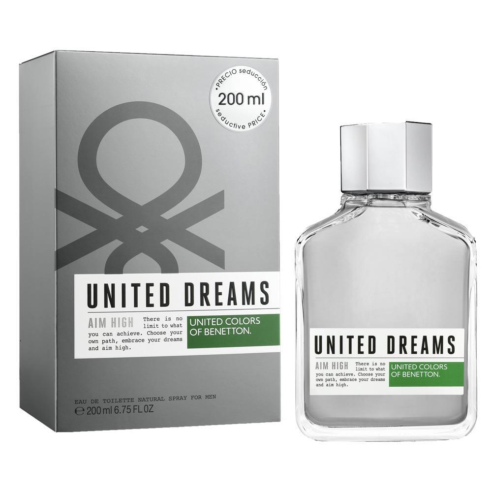 b8a088b6c United Dreams Aim High Benetton - Perfume Masculino - Eau de Toilette R   149